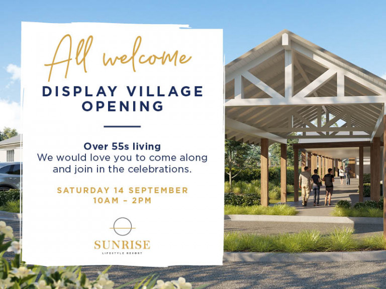 Display Village Opening