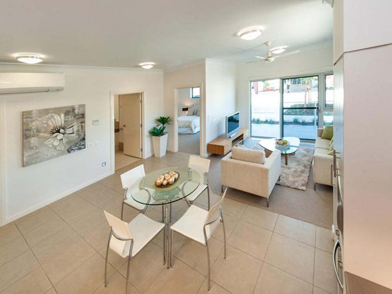 The living is easy with this gem 105/91  Anzac Ave - Redcliffe 4020 Retirement Property for Sale