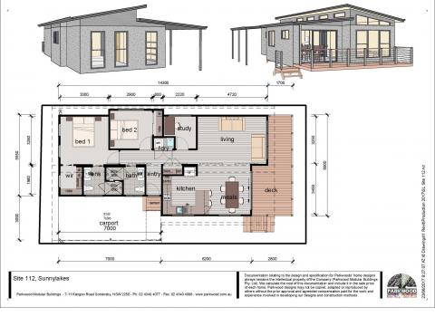 New 2 Bedroom plus Study $380,000