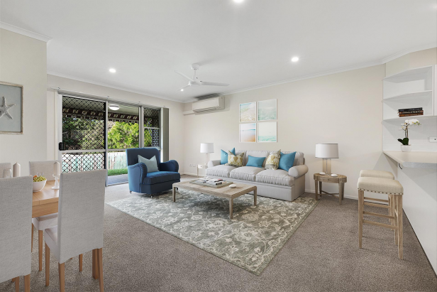 Modern one-bedroom unit with bush views!