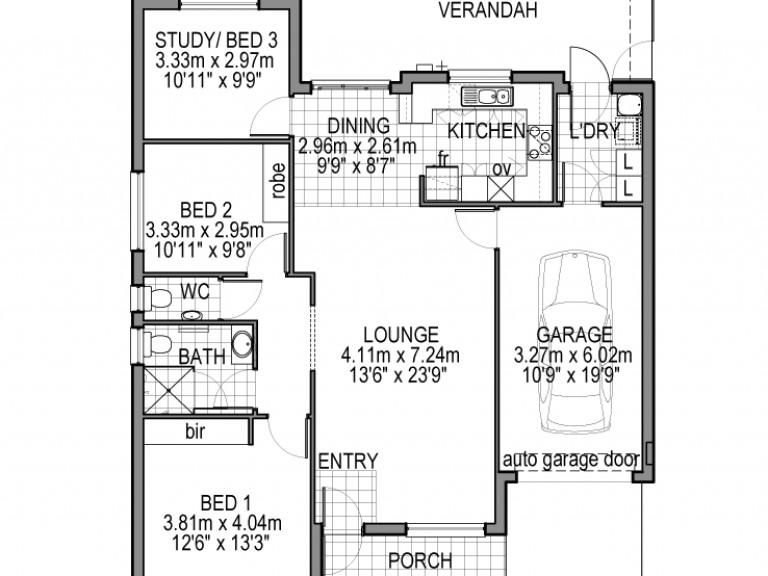 3 Bedroom Villa - to be built