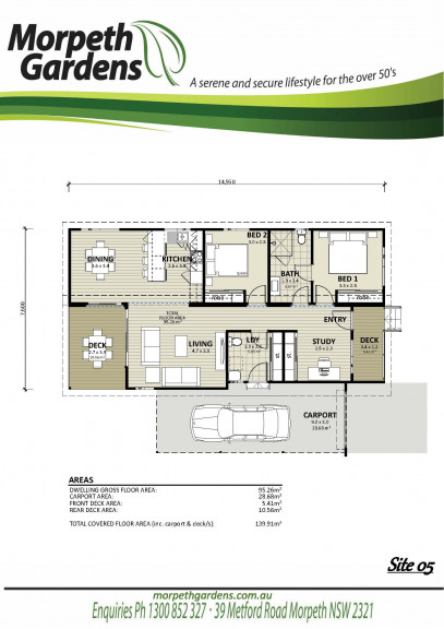 Morpeth Gardens Site 5 Now selling