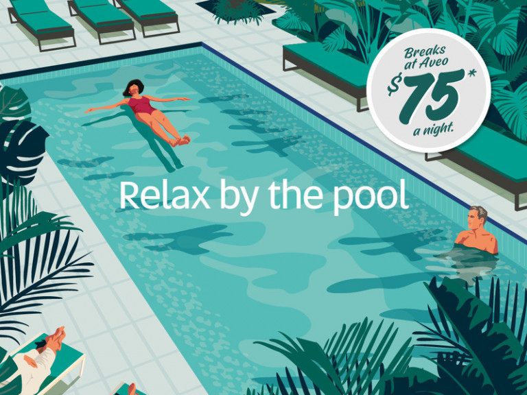Experience the Aveo lifestyle - Enjoy a mini break!