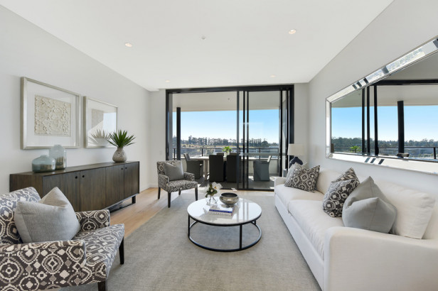 One bedroom with gorgeous views