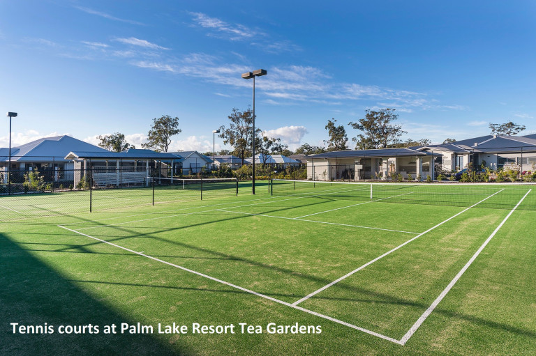 Palm Lake Resort Tea Gardens Luxury Over 55's