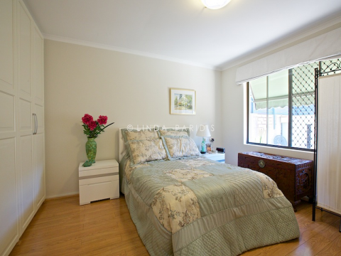 Dorothy Genders Village is in an attractive, quiet location between river and sea, offering one- and two-bedroom units.