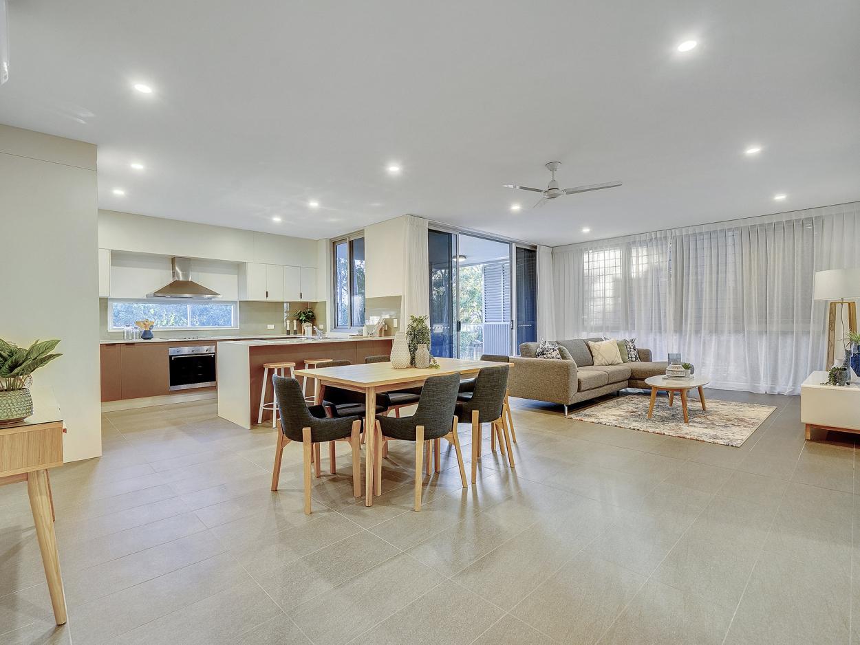 Brand new two-bed plus study apartment, Parque Vista  2107/85  Seville Road - Holland Park 4121 Retirement Property for Sale