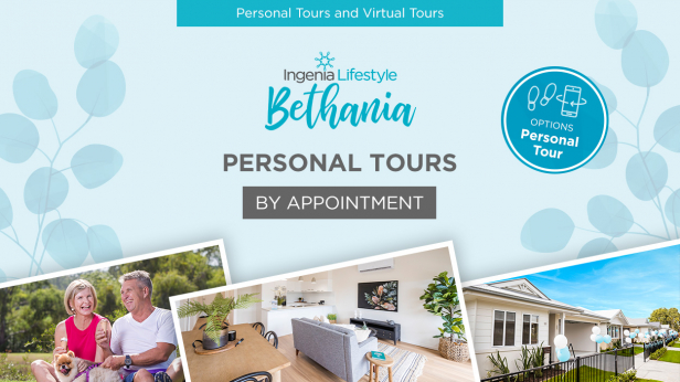Personal Tours by Appointment at Ingenia Lifestyle