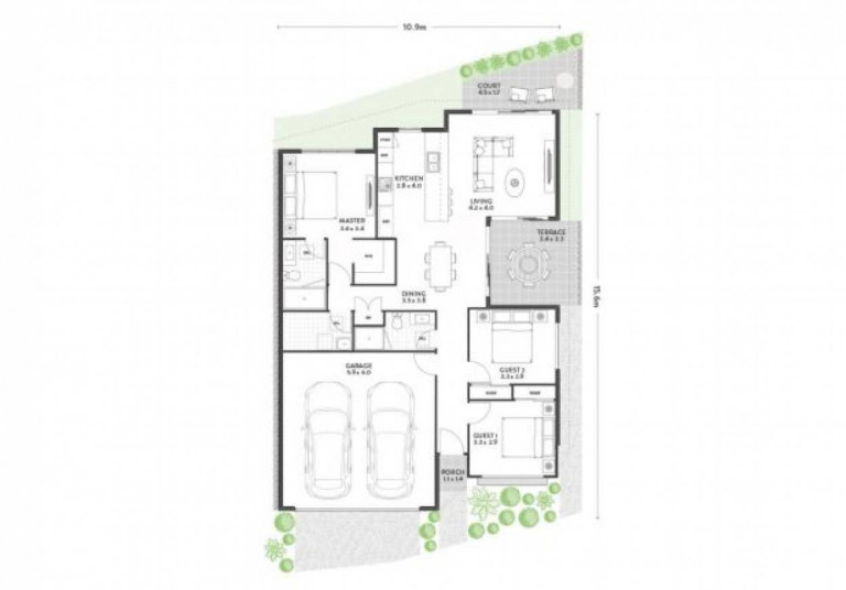 Orianna Lifestyle - Bateman 3 bedroom home