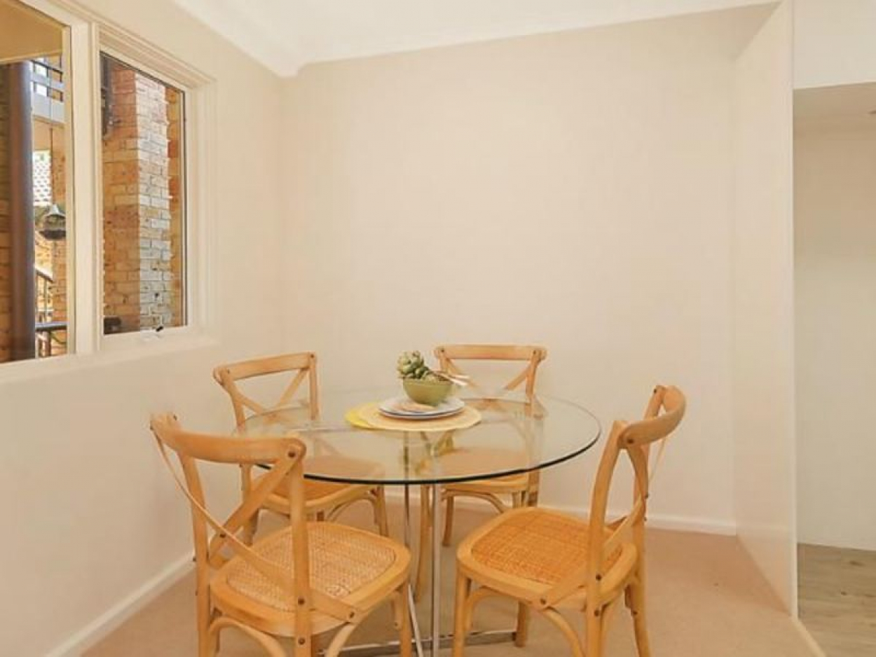 Fully refurbished unit with garden views