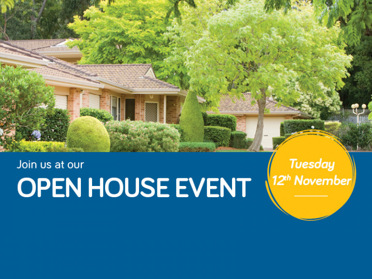 Join us at Tarragal Glen's Open House!