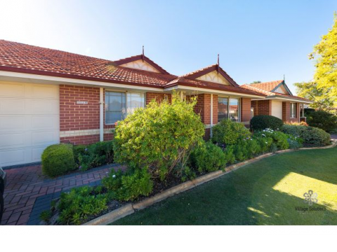 Imagine living here…highly sought after Retirement Village