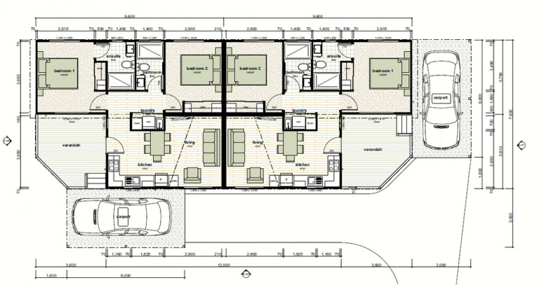 Brand New 2 bedroom 2 bathroom homes For Sale, Anna Bay