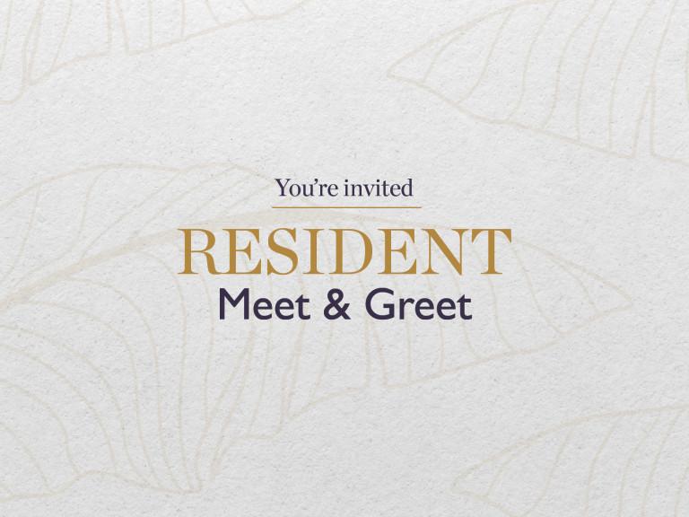 Resident Meet & Greet