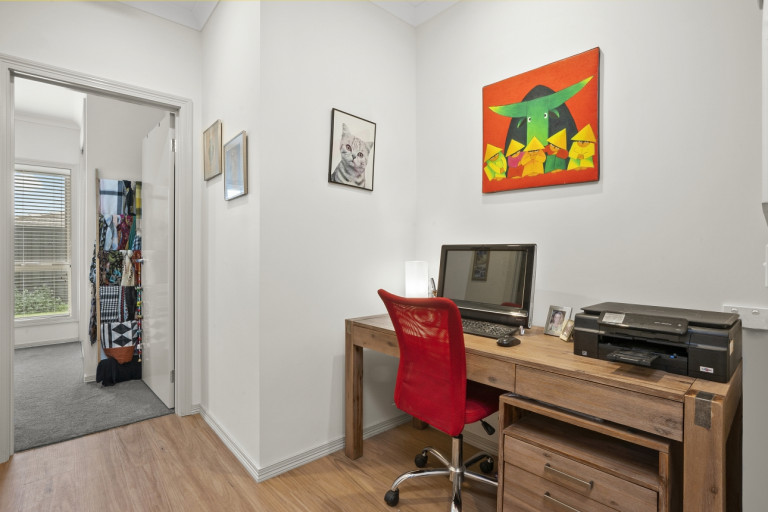 UNDER OFFER. Picture perfect two-bedroom corner home with study nook