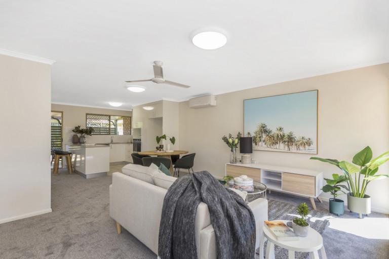 Two bedroom retirement villa