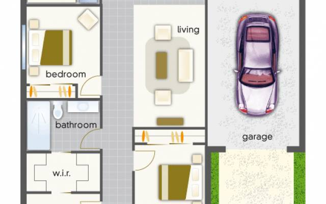 Villa 41 - Mountain View Leongatha - 3 Bedroom Single Garage - Under Construction