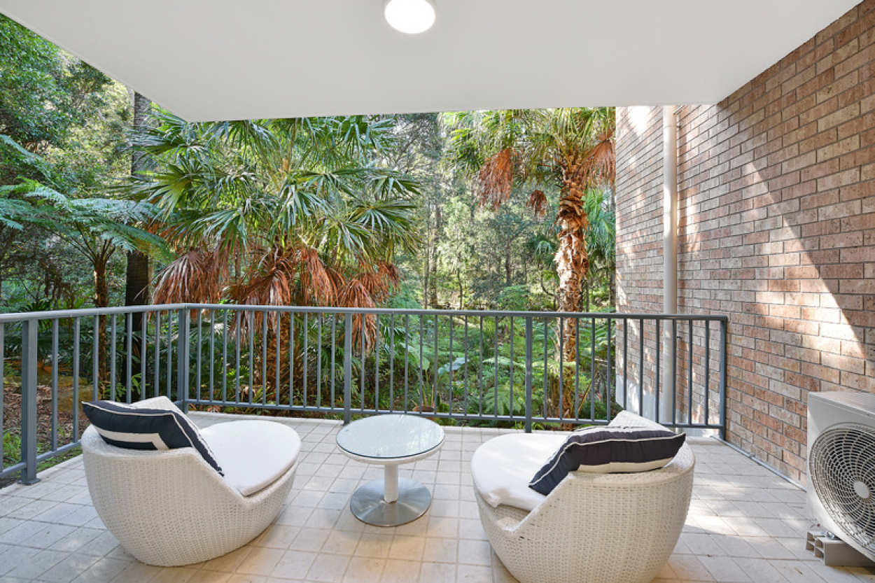 Beautifully renovated and privately set
