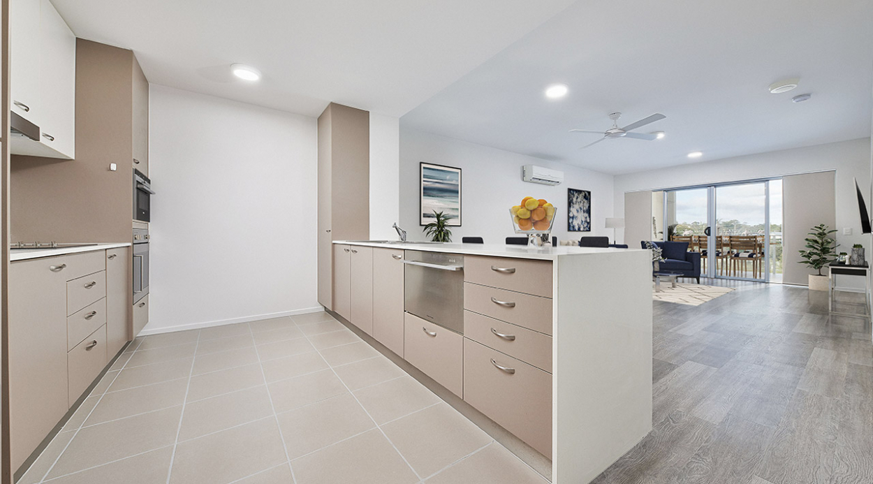 Modern one bedroom apartment ready for you to move in today! 6 Blaker Road - Mitchelton 4053 Retirement Property for Sale