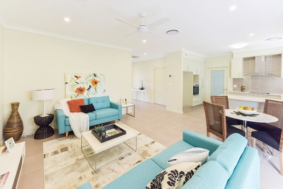 """Our """"Cassowary"""" – beautiful, spacious one bedroom villa close to facilities and preserved parkland."""