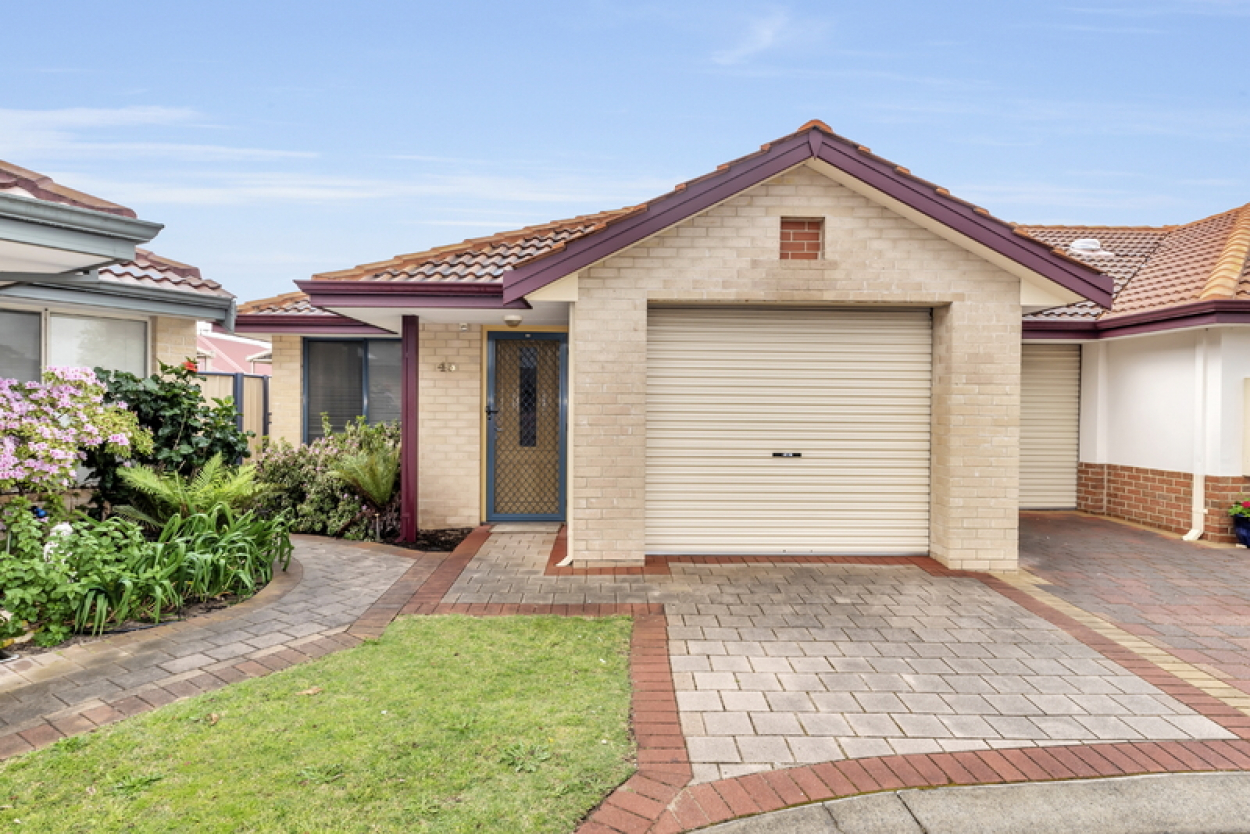 Well-presented low maintenance home, fresh from an update, nestled in a lovely corner of the village