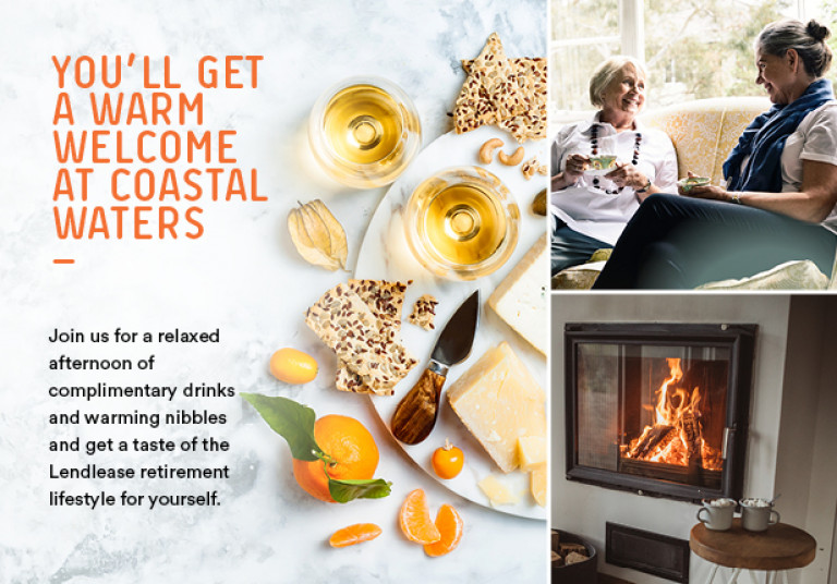 Stay Warm this Winter at Coastal Waters