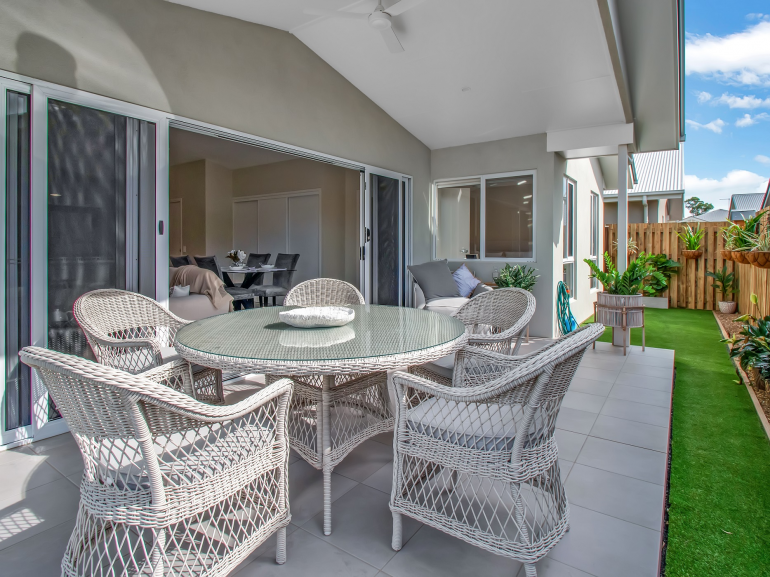A new home at Ingenia's Hervey Bay community on the NSW mid-north coast