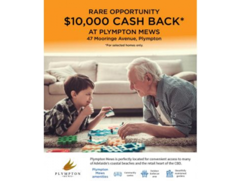 Cash Back offer