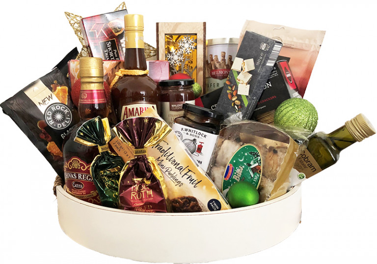 Affinity Sheep Station Creek gourmet Christmas Hamper promotion
