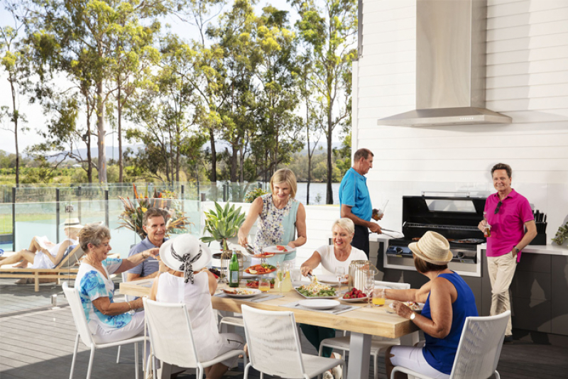 Seachange Riverside Coomera, the GC's most exclusive lifestyle resort designed for over 50's