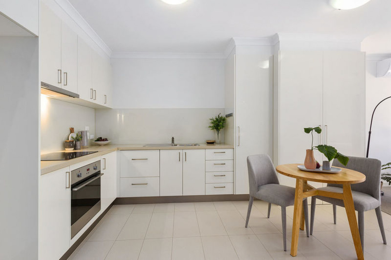 Two bedroom, ground floor apartment