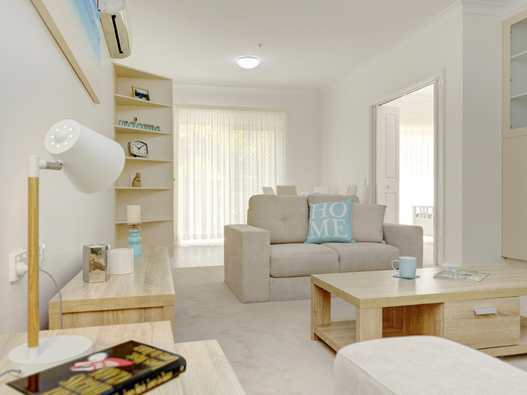 Discover relaxed retirement living in secure and convenient surrounds