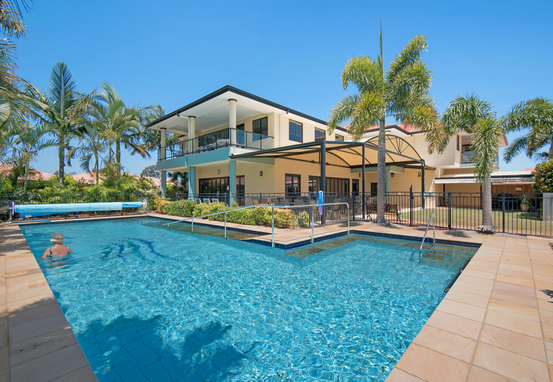 Waterfront Villa overlooking Moreton Bay!