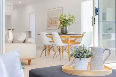 Inspriational, flexible living in this brand new, two bedroom home at The Aerie