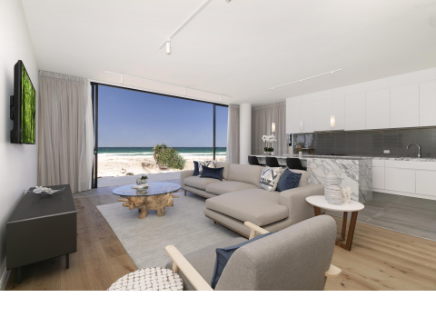 Ground Floor Absolute Beachfront Luxury at ONE Palm Beach
