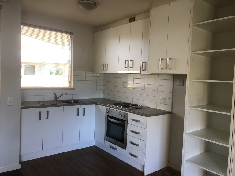 Affordable studio unit for rent in retirement village
