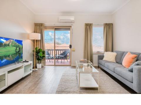 Secure apartment living next to parkland $275,000