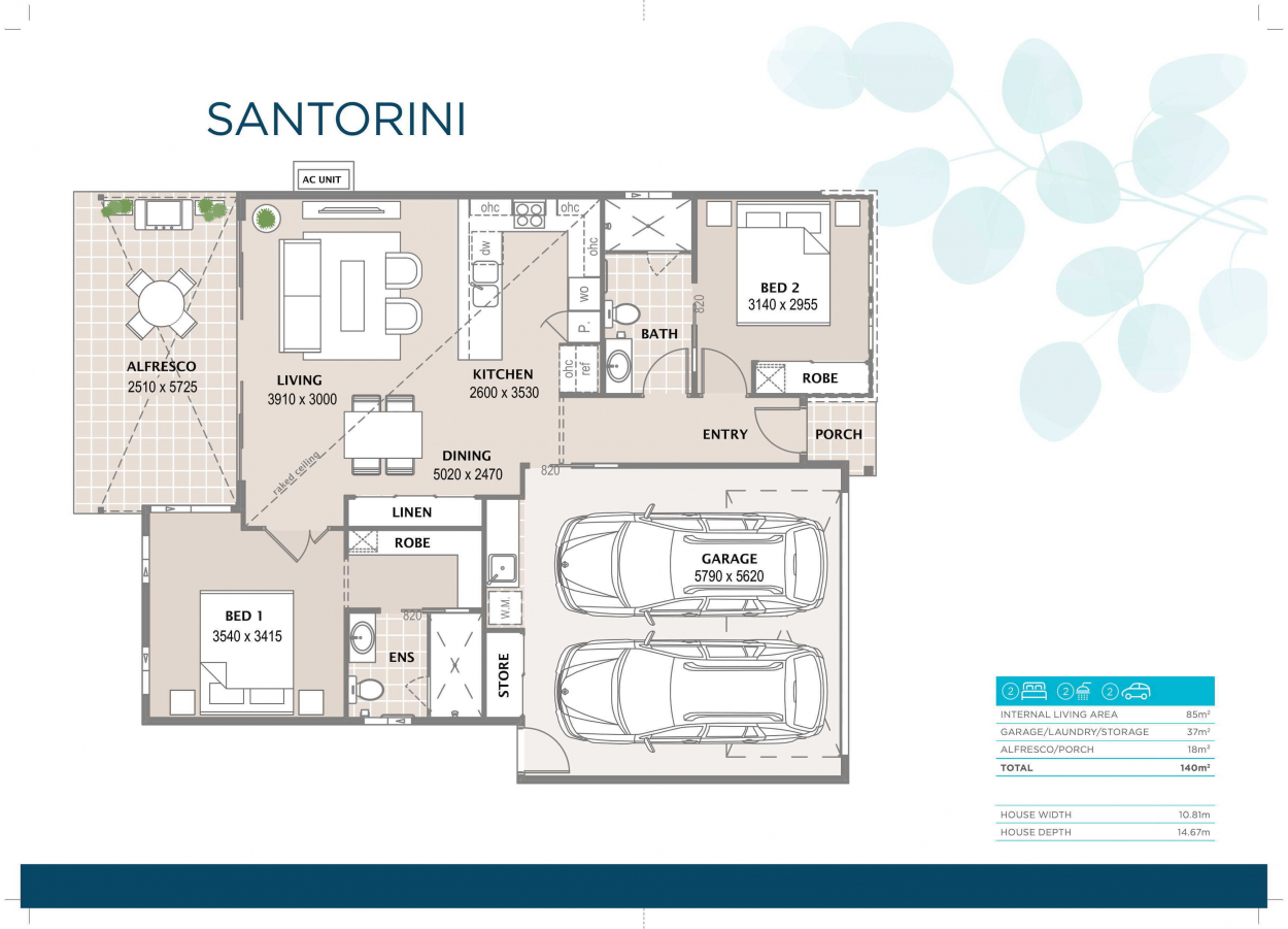 The Santorini is Coming Soon to Bethania