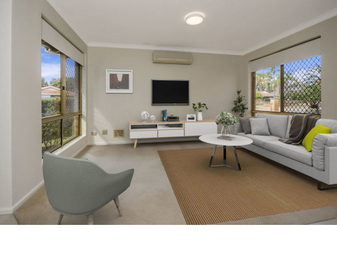 Victoria 22 – Recently refreshed, light and bright home situated in a coveted corner position and surrounded by lovely gardens – represents great valu