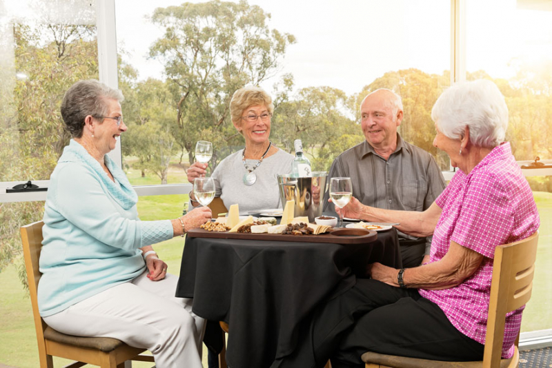 Another milestone celebration for Living Choice Flagstaff Hill!