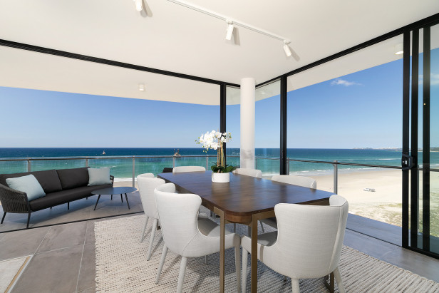 Perfect Height Absolute Beachfront Living at Palm Beach!