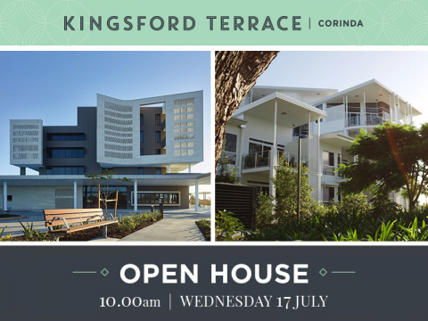 Open home | Kingsford Terrace Corinda