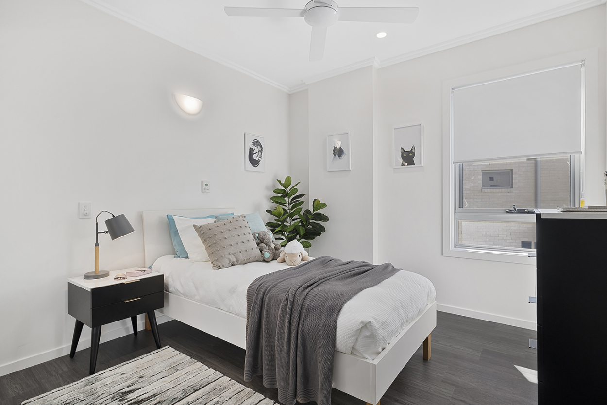 Luxury, three-bedroom apartment