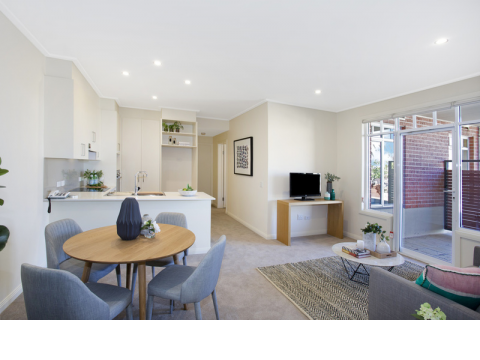 State of the art residence located in this premier village.