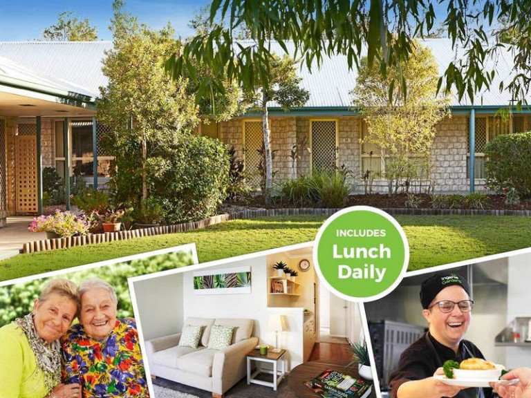 Rental in Retirement Community - Single Unit with Lunch Daily.