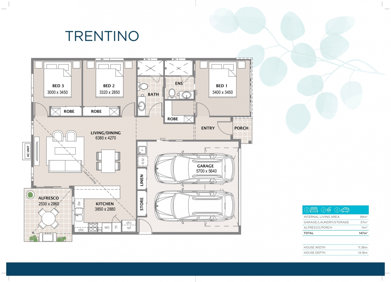 The Trentino is Coming Soon to Bethania