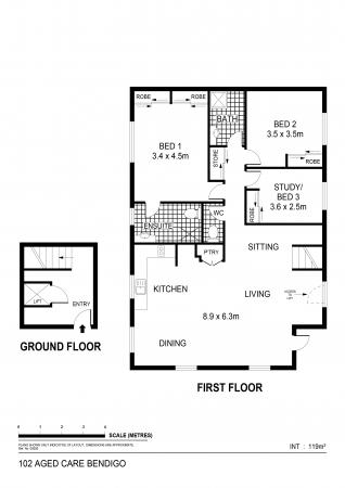 Spacious, open plan, three bedroom home