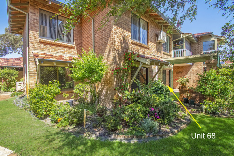 Light and bright home with views over the manicured village gardens and priced to sell!