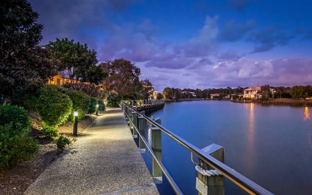 Resort style waterfront retirement community