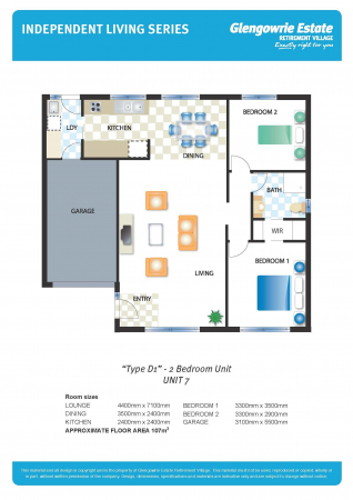 Street frontage for easy access to your unit!
